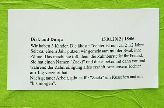 SWAK Kommentar 2012