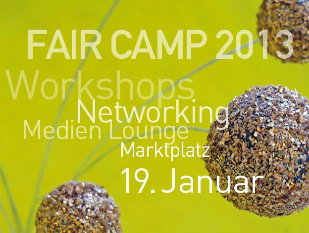 Fair Camp 2013 Titel