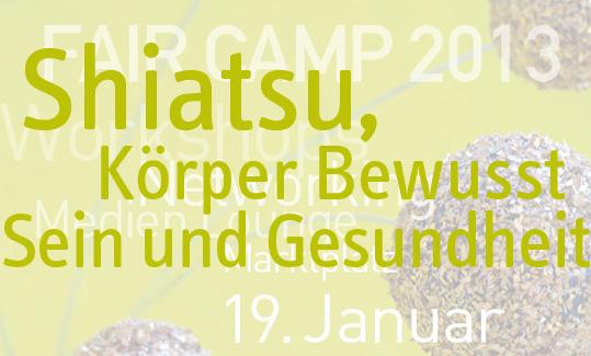 Shiatsu Fair Camp ESI