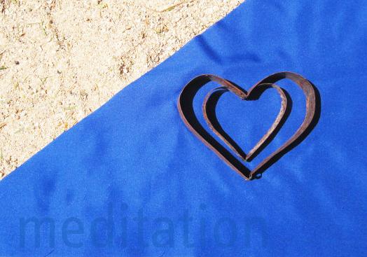 Omaruru River Project Landmatters 2013 Heart Hanne Alpers