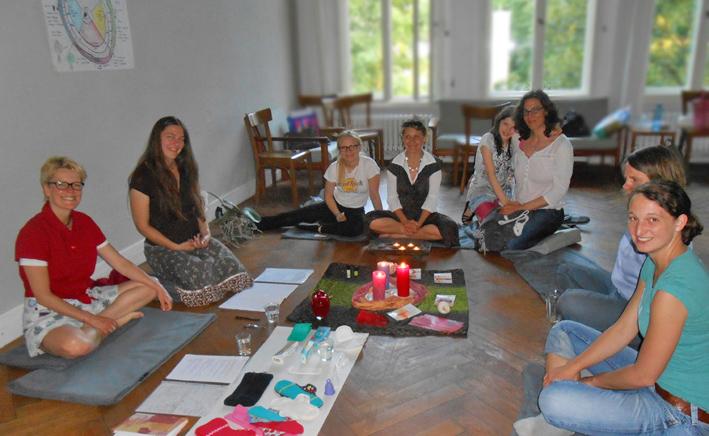 Frauenzeit Gruppenbild MeetUp im EDEN 2014