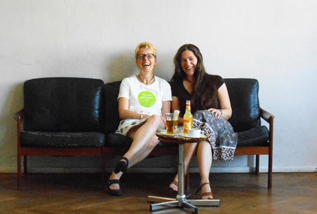 Petra Hinze Britta Wein MeetUp EDEN