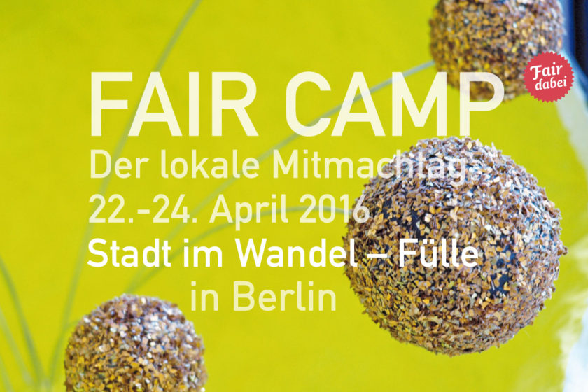 Fair Camp Berlin 2016